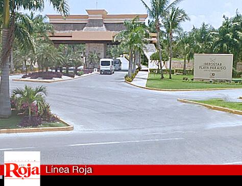 Sujetos armados armados se robaron 2 cajeros y una camioneta en la salida del hotel Iberostar Paraíso
