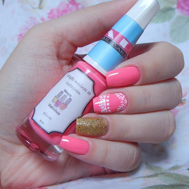 nail-art-rosa