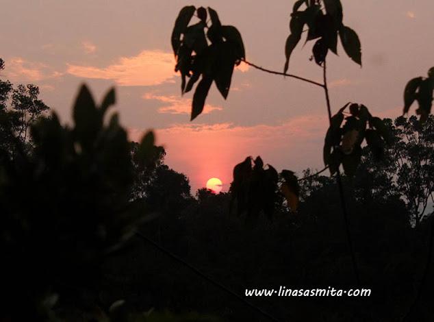 Senja di Pulau Lingga
