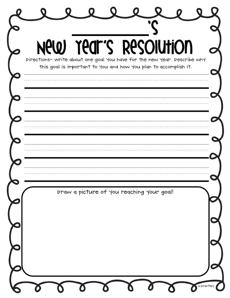 My new year resolution essay