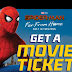 Free Spider-man: Far Fro Home Movie Ticket