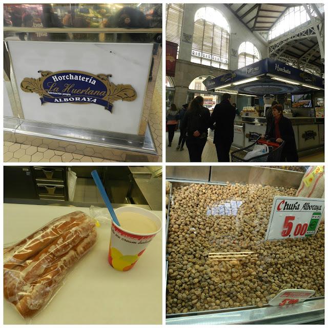 Onde beber horchata em Valencia - Horchateria La Huertana - Mercado Central