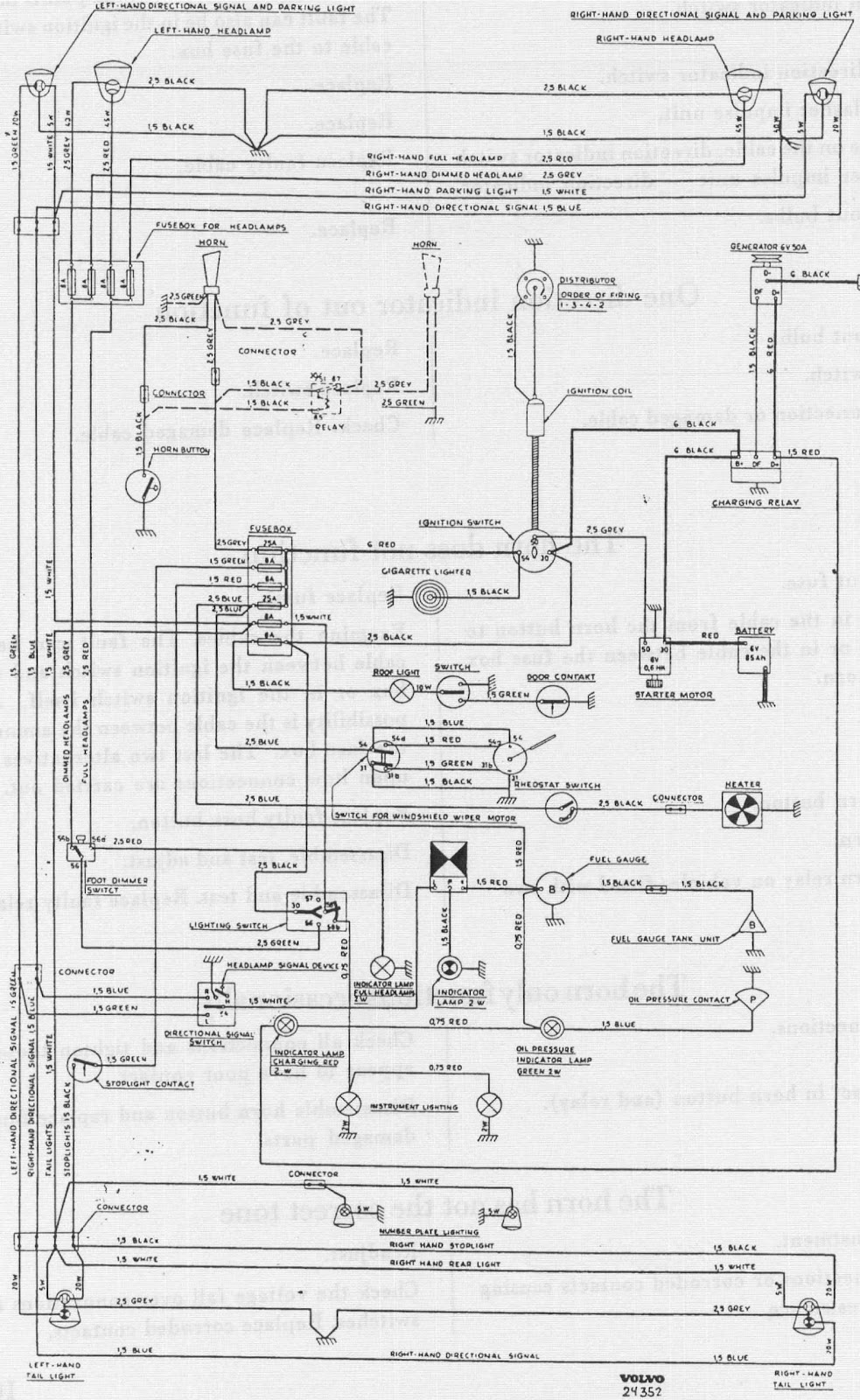 Semi Truck Wiring Schematics Electrical Diagrams 2000 Volvo Vnl Diagram Ford Radio Awesome