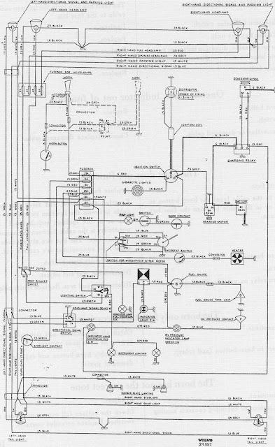 volvo pv 544 wiring diagram