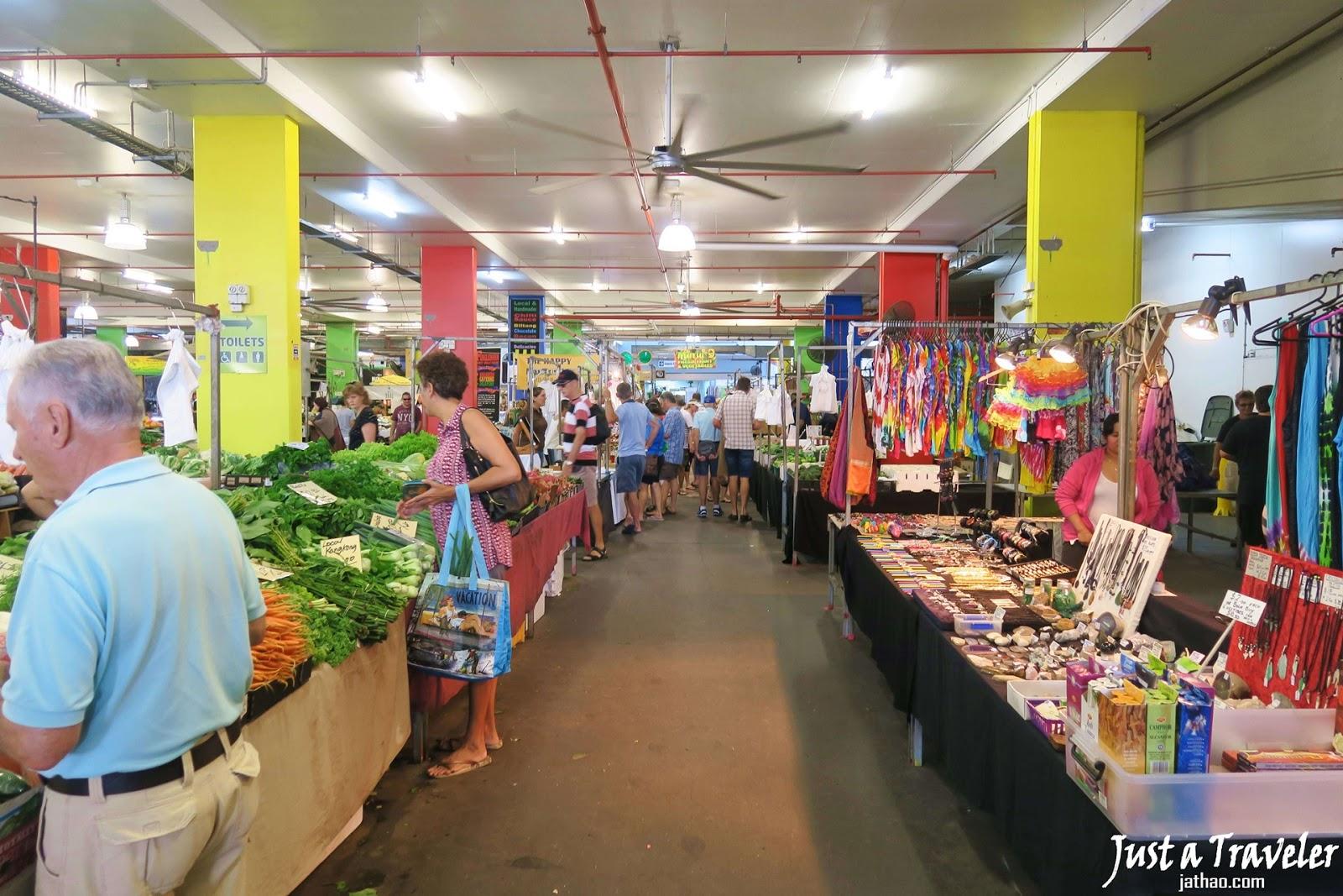凱恩斯-景點-推薦-羅斯地假日市集-旅遊-自由行-澳洲-Cairns-Tourist-Attraction-Rusty's-Markets-Travel-Australia