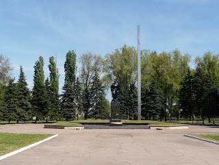 Дружківка. Братська могила радянських воїнів