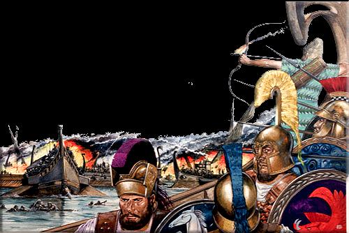 ΟΙ ΔΡΑΣΕΙΣ ΣΤΗ ΝΑΥΜΑΧΙΑ ΤΗΣ ΣΑΛΑΜΙΝΑΣ ΩΣ ΨΥΧΟΛΟΓΙΚΕΣ ΕΠΙΧΕΙΡΗΣΕΙΣ