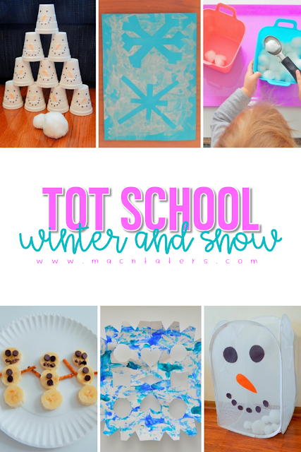 Tot School Winter Snow Week