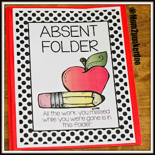 Classroom Organizing Tip For Absent Students