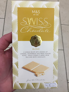 Marks & Spencer Swiss Blond Chocolate