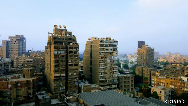 Casas y Edificios de El Cairo en egipto