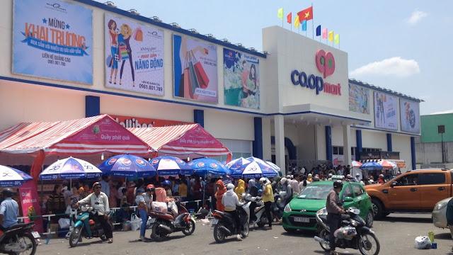 Siêu thị Coopmart Bến Lức
