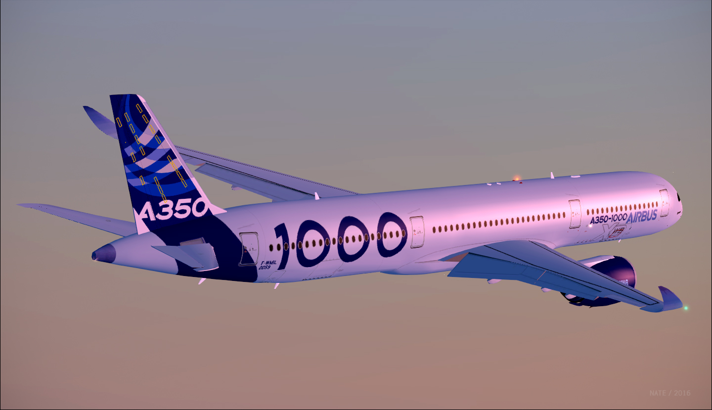 Airbus A350-1041 / Airbus Industrie / F-WMIL House Livery
