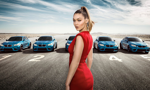 Eyes On Gigi Hadid – 2016 BMW M2 TV Commercial youtube video