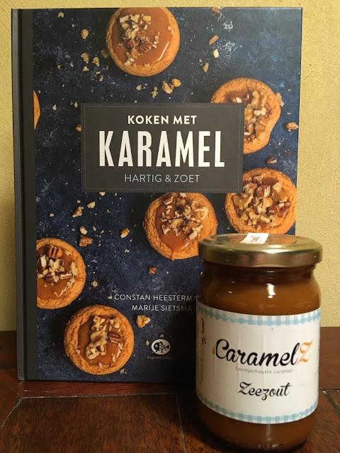 review boek: koken met karamel van Constan Heestermans en Marije Sietsma