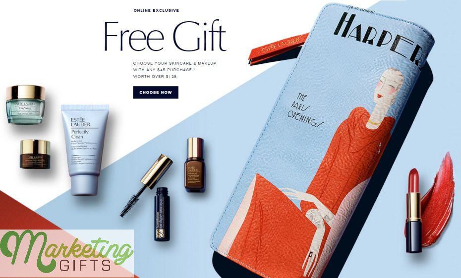 Free Gift With Purchase Branded Bag And Set From Estée Lauder