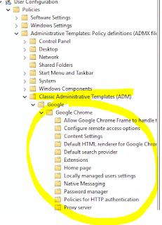 Eng  Alessandro Mazzanti: Server - Google Chrome GPO creation under