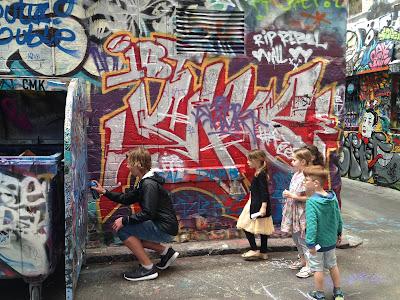 Hosier Lane Melbourne street art