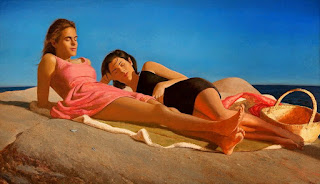 pinturas-mujeres-tradicional-realismo mujeres-cuadros-pintados