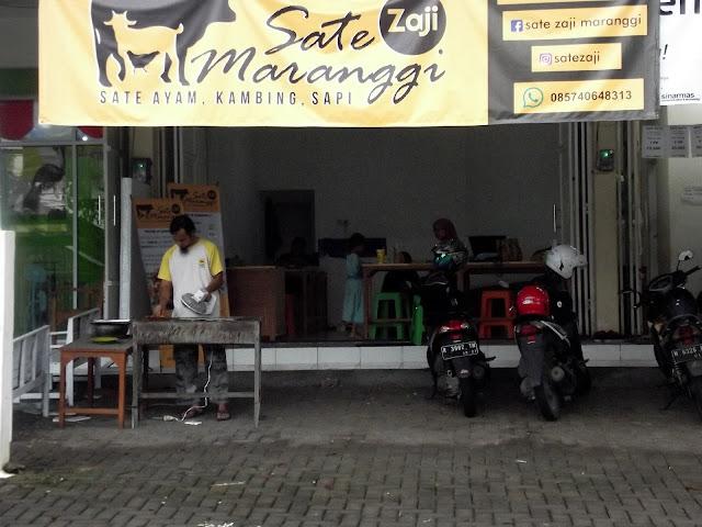 Tampak Depan Sate Zaji Semarang