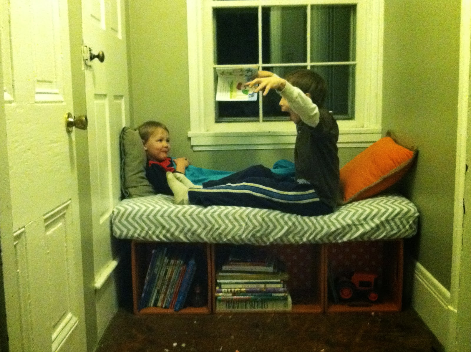 Calculating Blessings: Blessing #223 - The Reading Nook Bench