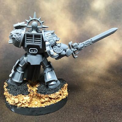 Grey Knights Brotherhood Champion WIP - Back