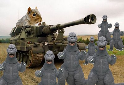 funny squirrels with guns funny animals