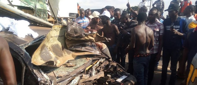 Four perish in Nsawam road accident in Eastern Region