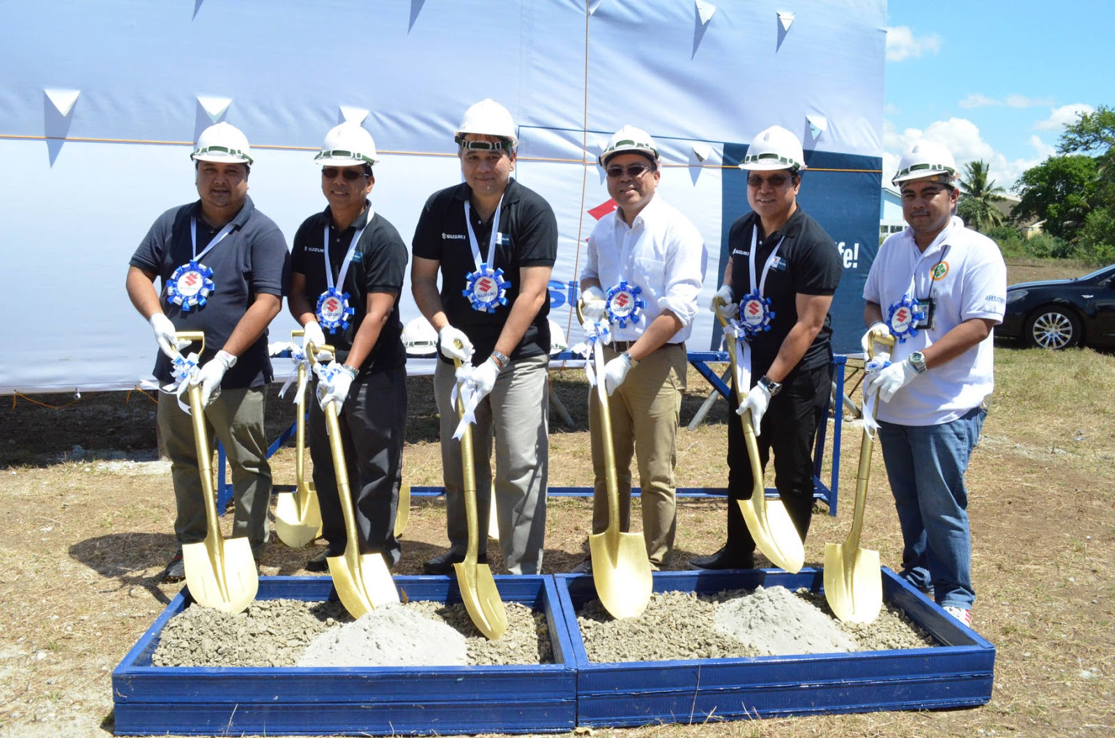 Suzuki Philippines breaks ground in Batangas