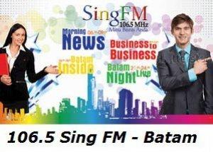 Sing FM 106.5 MHz Batam radio solusi bisnis