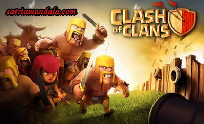 Satriamandala dan Game Android Clash Of Clans