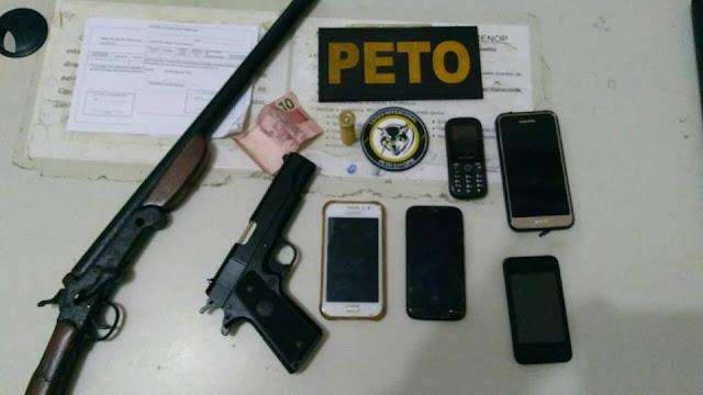 Conde: Suspeito de assaltos e tentativa de homicídio troca tiros com a PM