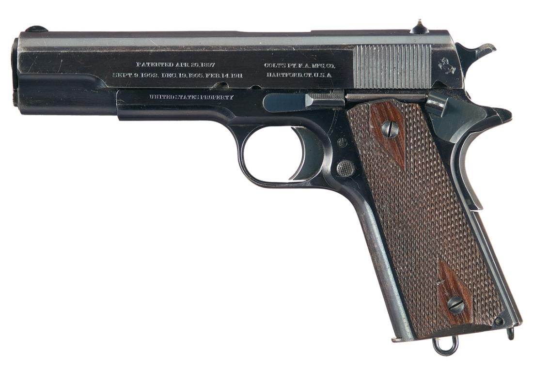Armas de las Islas Filipinas: Colt M1911 .45ACP Pistol