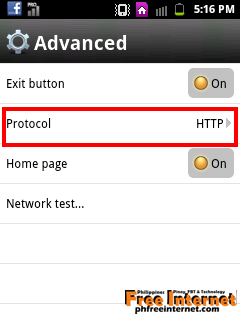 Android Phone Free Internet using Opera Mini 7 5 (Globe MGC) - ilmu