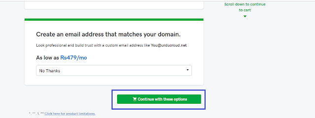 Buy Domain Name With GoDaddy