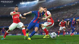 Pro Evolution Soccer 2017 (X-BOX 360) DUBLADO EM PT-BR