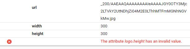 Mengatasi Error  Structured Data Blog 'The attribute logo.height has an invalid value'