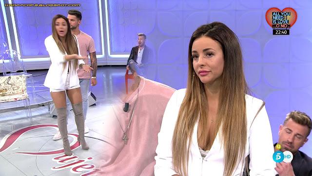 Marta Granero 'MYHYV' con shorts blancos