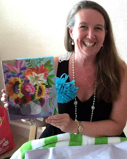 Birthday Bouquet by Merrill Weber
