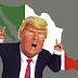México rechaza nuevas amenazas de Donald Trump