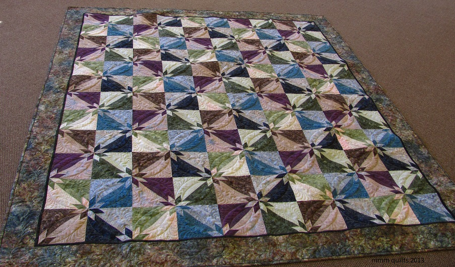 Mmm Quilts Hunter Star For Paula