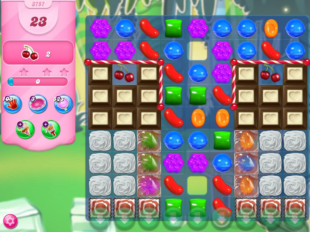 Candy Crush Saga level 3757