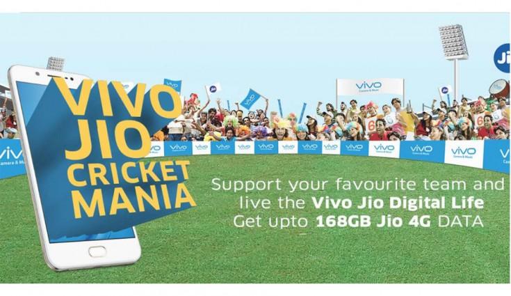 Reliance Jio Vivo Cricket Mania Offer