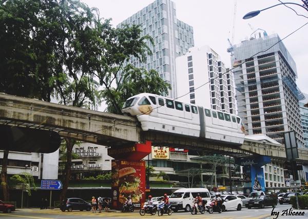 Kuala-Lampur-mono-rail