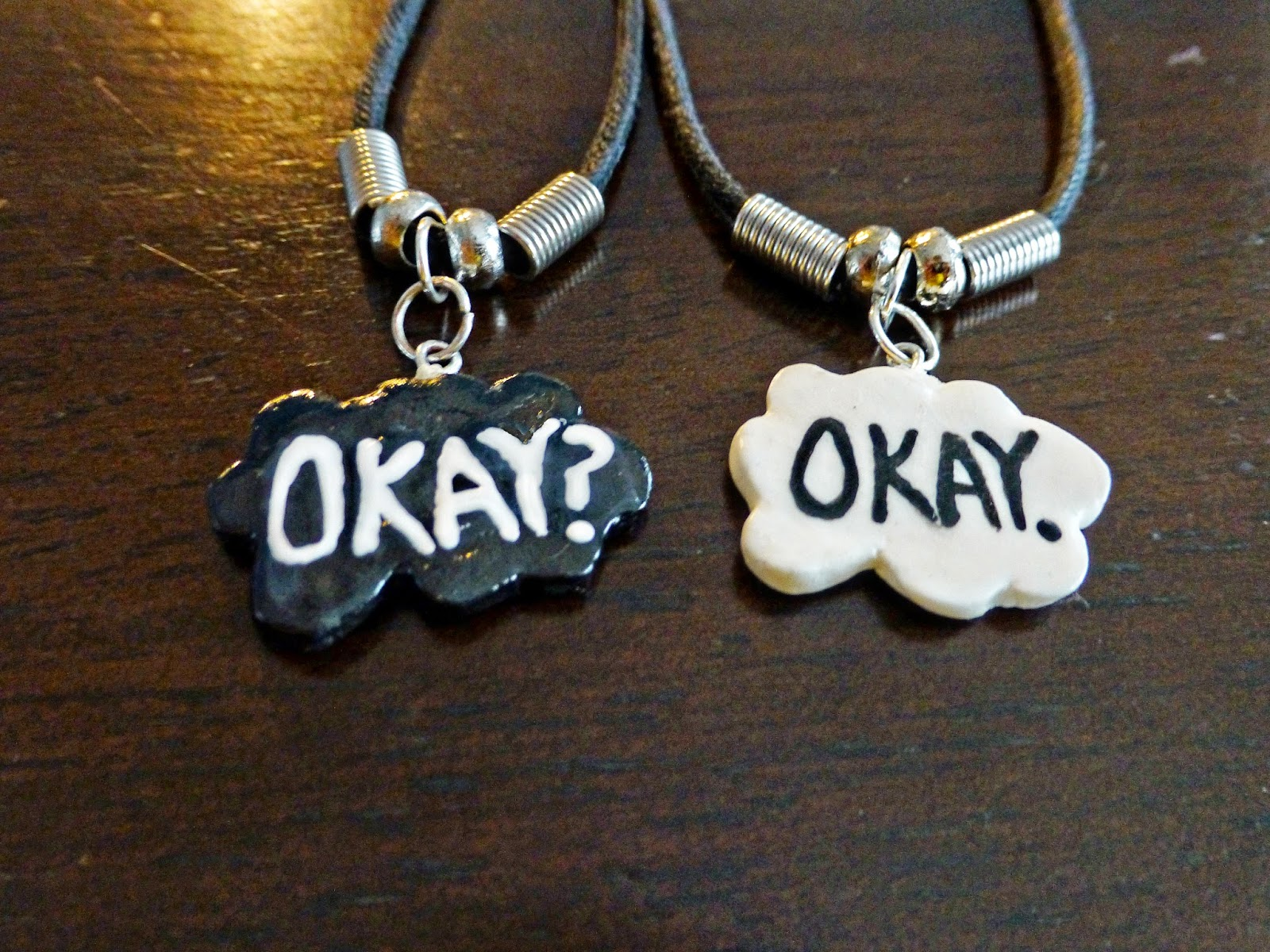The fault in our stars necklace