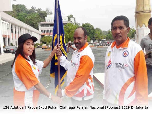 126 Atlet dari Papua Ikuti Pekan Olahraga Pelajar Nasional (Popnas) 2019 di Jakarta