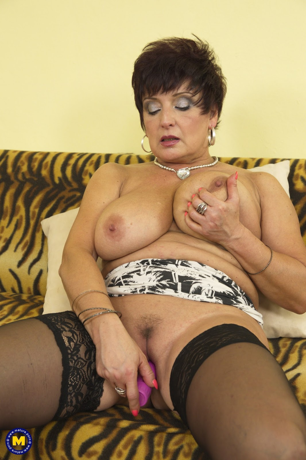 A french mature martine gangbanged outdoor - 3 part 8