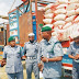 SEE PHOTOS as Customs Officers Seize 10 Trailers Loaded With Rice, Other Contraband