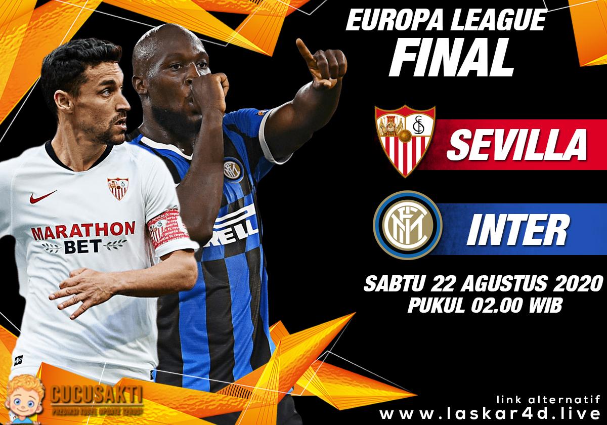 Prediksi Bola Sevilla vs Inter Milan Sabtu 22 Agustus 2020