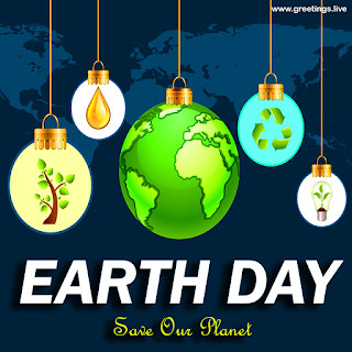 Earth day Wishes Save our Planet